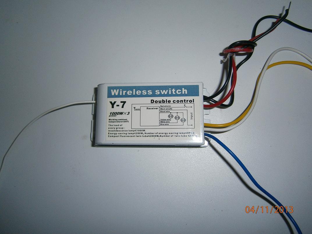Wireless switch схема