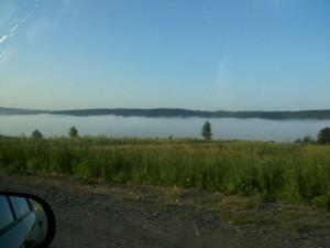 туман по пути